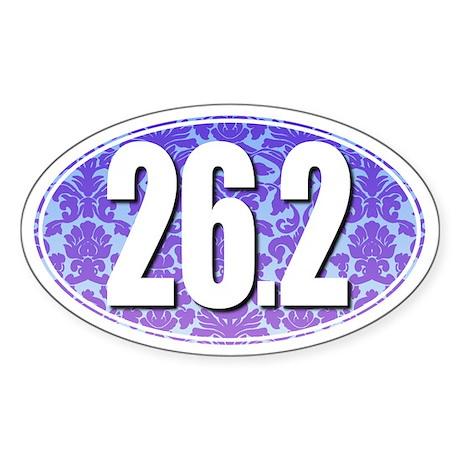Fancy 26.2 Marathon Sticker (BLUE/PURPLE)