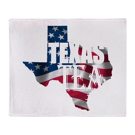 Texas Tea Throw Blanket