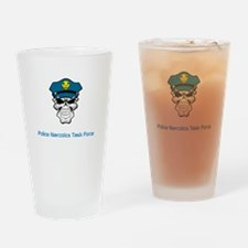 Narcotics Task Force Drinking Glass