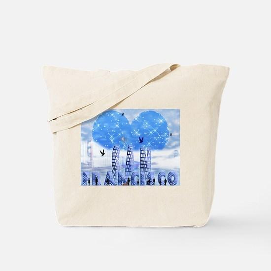 I Heart SFO Tote Bag