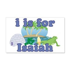 I is for Isaiah 22x14 Wall Peel