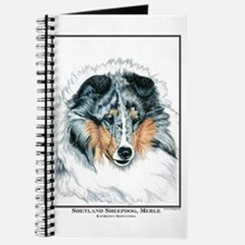 Blue Merle Shetland Sheepdog Journal