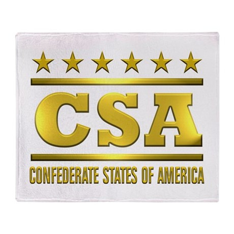 CSA 2 Throw Blanket