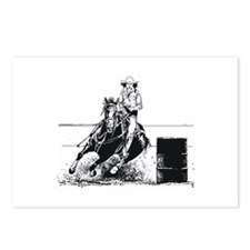 Rodeo Cowgirl Postcards (Package of 8)
