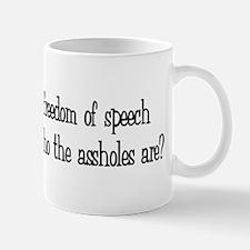 Freedom of Speech Mug