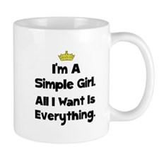 Simple Girl Mug