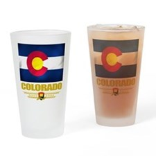 Colorado Pride Drinking Glass