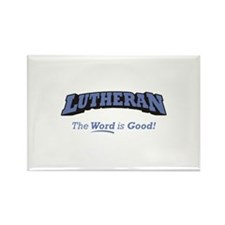 Lutheran / Word Rectangle Magnet (10 pack)