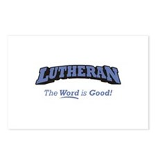 Lutheran / Word Postcards (Package of 8)
