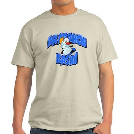 Arapahoe Basin Snowman Light T-Shirt
