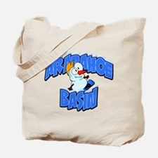 Arapahoe Basin Snowman Tote Bag