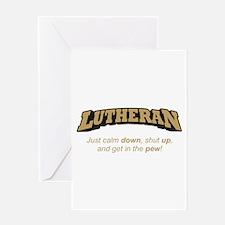 Lutheran / Pew Greeting Card