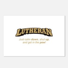 Lutheran / Pew Postcards (Package of 8)
