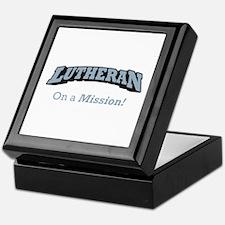 Lutheran on Mission Keepsake Box