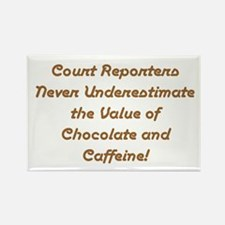 Court reporting Rectangle Magnet