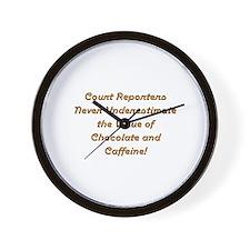 Unique Court reporter Wall Clock