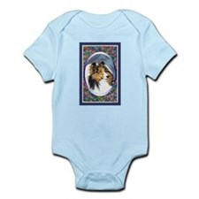 Shetland Sheepdog Designer Infant Creeper