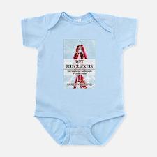 Unique Firecrackers Infant Bodysuit