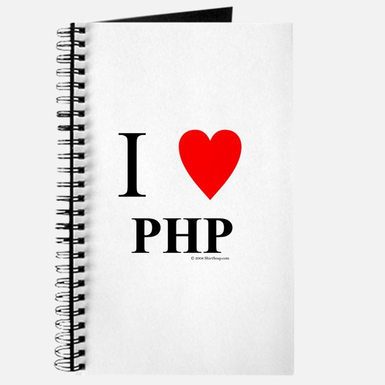 """I """"Heart"""" PHP Journal"""