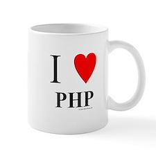 "I ""Heart"" PHP Mug"