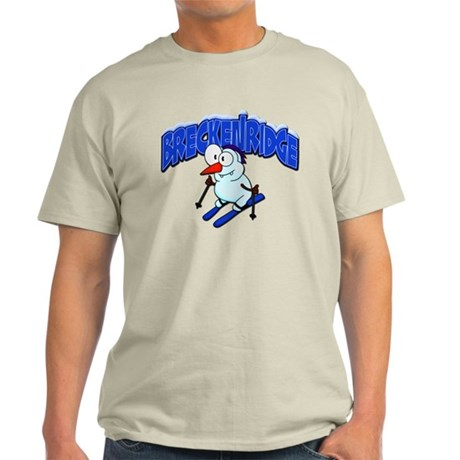 Breckenridge Snowman Light T-Shirt