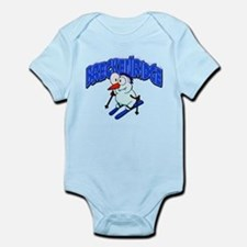 Breckenridge Snowman Infant Bodysuit