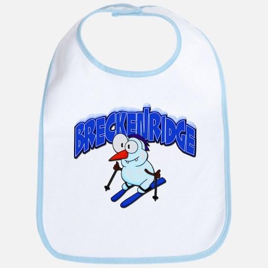 Breckenridge Snowman Bib