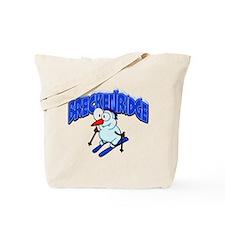 Breckenridge Snowman Tote Bag