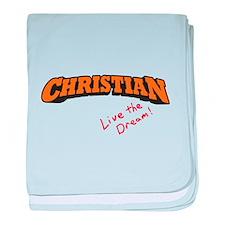 Christian / LTD baby blanket