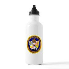 USS ALEXANDRIA Sports Water Bottle