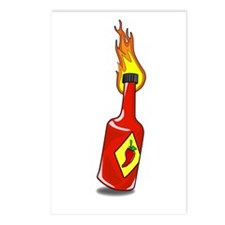Cartoon Hot Sauce Postcards (Package of 8)