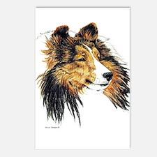 Shetland Sheepdog Sheltie Postcards (Package of 8)
