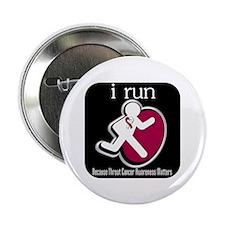 "I Run Cancer Awareness 2.25"" Button"