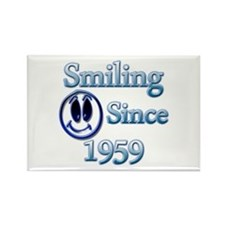 Cool Funny birthday 1959 Rectangle Magnet