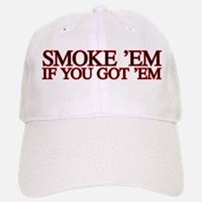 Smoke em Baseball Baseball Cap