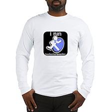 I Run Cancer Awareness Long Sleeve T-Shirt