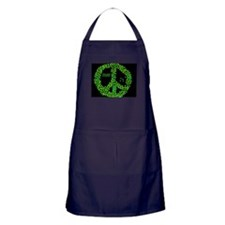 Give Peas a Chance Apron (dark)