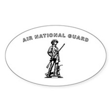 Air National Guard Oval Decal