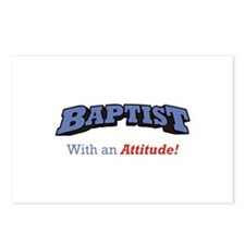 Baptist with Attitude Postcards (Package of 8)