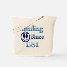Funny 1951 birthday Tote Bag