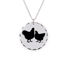 Orpington Silhouette Necklace