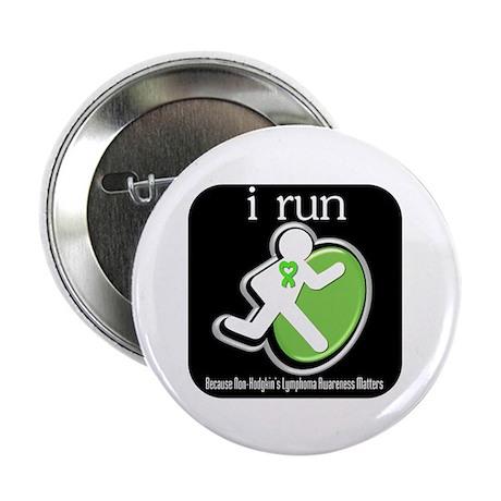"""I Run Cancer Awareness 2.25"""" Button (10 pack)"""