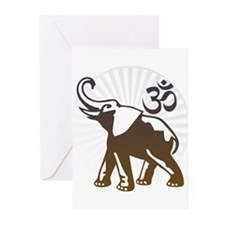 Ganesh Aum Greeting Cards (Pk of 10)