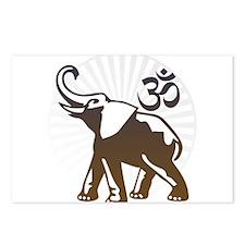Ganesh Aum Postcards (Package of 8)