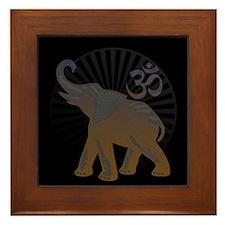 BW Ganesh Aum Framed Tile