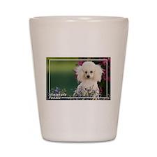 Miniature Poodle-4 Shot Glass