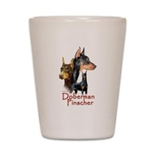 Doberman Pincher-1 Shot Glass