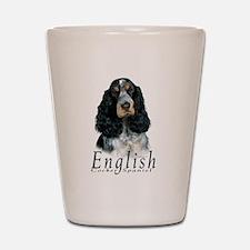 English Cocker Spaniel-1 Shot Glass