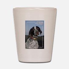 German Shorthair Pointer-2 Shot Glass