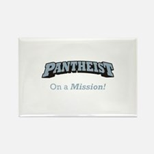Pantheist / Mission Rectangle Magnet